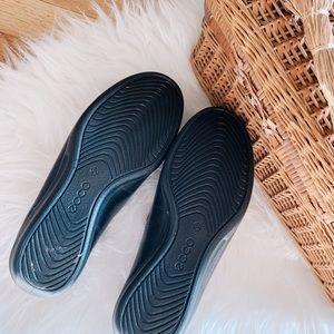 Ecco Shoes - NWOT Ecco Black Slip On Clogs